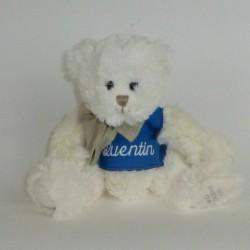 Peluche ours blanc personnalisé - Esprit Broderie