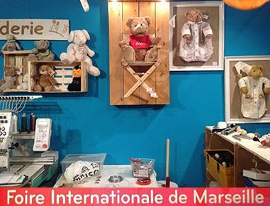Esprit Broderie à la foire internationale de Marseille